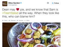 Whoever Runs The Olive Garden Twitter Account Loves Fandom