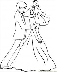 Free Printable Coloring Wedding Pages 61 For Kids Online With