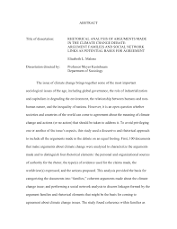 PDF Rhetorical Analysis Of Arguments Made In