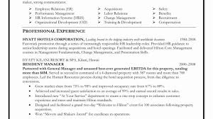 Human Resources Manager Resume Sample Human Resources ...