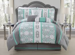 duvet Stunning Grey And Coral Bedding Crest Home Ellen Westbury