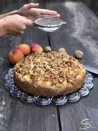 walnuss apfel kuchen