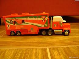 Aliexpress Pixar Cars 2 # 95 43# 86# Mack Truck Hauler + Diecast ...