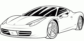 Bugatti Sports Car Coloring Pages