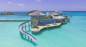 100 W Retreat Maldives These Villas In The Have Slides To Take You Right