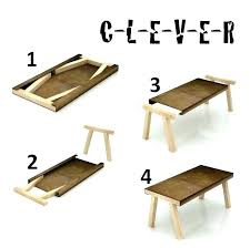 Diy Folding Table Awesome Small Wood Very Cool Probably Pieces Of 5 For