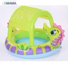 piscine a balle gonflable haute qualité mignon dinosaure forme gonflable piscine bébé jouer