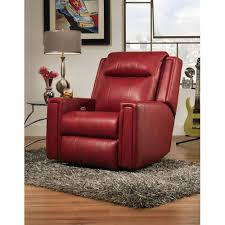 Southern Motion Reclining Furniture by Southern Motion Curve Wall Hugger Recliner With Power Headrest