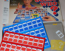 Vintage Guess Who Game 1987 Milton Bradley For Parts Replacement
