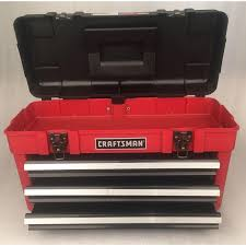 Craftsman 4 Drawer Portable Toolbox Chest Garage Mechanic Storage ... Craftsman 19 Toolbox With Tray Blackred Invigorating Plastic Rolling Tool Box Truck Bed Installation All About Cars Sliding Pickup Boxes Best Resource Fashionable Display Reviews And X Black Shop At 1302250 Alinum Low Profile Full Size Single Lid Bag Combo Set Slickdeals Sears Hand Tools Attach Deal 221250 48 Portable Storage Chest Outlet 1232252 Crossover 265 In 14 D X 4425 H Steel Cabinet Have To Have It Buyers Fender Well 40299 Open Diff Chest Or Black Hole Hemmings Daily