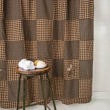 Primitive Living Room Curtains by Country Shower Curtains Country Bathroom