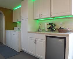garage remodel accent lighting cabinets with led