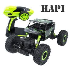 100 Bigfoot Monster Truck Toy RC Car 24G 4CH 4WD Rock Crawlers 4x4 Driving Car Double Motors