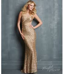 night moves by allure 2014 prom dresses gold sequin slim geometric