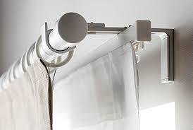 No Drill Curtain Rod Brackets by Curtain Rails U0026 Rods Ikea