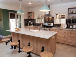 e Wall Kitchen Designs With An Island 18 e Wall Kitchen