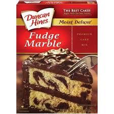 Fudge Marble Cake