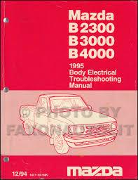 1995 Mazda Truck Body Electrical Troubleshooting Manual Original ...