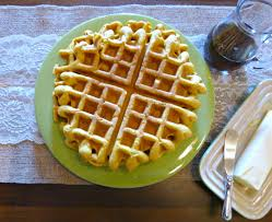 Bisquick Pumpkin Pecan Waffles by A Squared October 2015