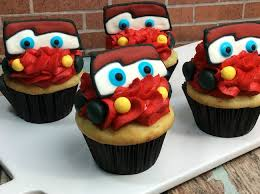 Lightning McQueen Cars Cupcake Recipe Cars3
