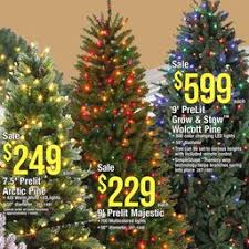 Innovative Ideas Menards Artificial Christmas Trees Best Marvelous Decoration