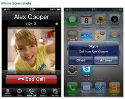 Skype for iPhone video calling now available volume shutter app