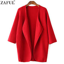 online get cheap long red cardigan aliexpress com alibaba group