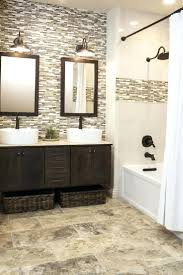 Tiles For Backsplash In Bathroom by Tile Backsplash Ideas Bathroom Continue Accent Tile In Shower To