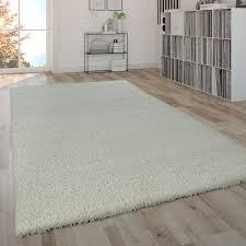 hochflor teppich shaggy teppich moderner wohnzimmer teppich in beige creme
