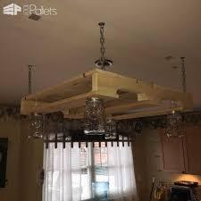 Pallet Wood Kitchen Light • 1001 Pallets