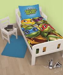 Tmnt Toddler Bed Set by Teenage Mutant Ninja Turtles Half Shell Heroes Junior Toddler Cot
