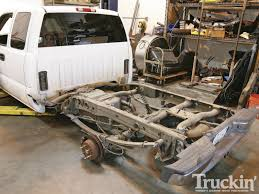 Project New Guy - 2000 Chevy Silverado - Rear Suspension - Truckin ... 471955 Chevy Truck Frame Heidts 1955 Metalworks Classic Auto Restoration 631987 Ipdent Front Suspension Upgrade 1953 Chevy Truck Layin Frame Youtube Luv Junkyard Jewel Mini Truckin Magazine 1950 3100 Ls1 Swap Busted Knuckles Hot Rod Style Five Window Crew Cab C3 Build Pirate4x4com 4x4 And Offroad Project New Guy 2000 Silverado Rear Suspension 1934 1959 Chassis Pickups Fat Man Fabrication Scotts Hotrods 51959 Gmc Sctshotrods Bodyonframe Trucks Remain Popular Profitable