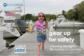 gear up for safety with the right life jackets for kids boater kids