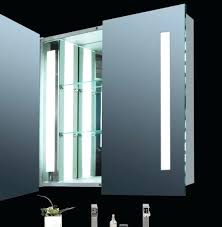 led lighted medicine cabinet cassini led mirror medicine cabinet