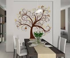 wandtattoo 3 farbig baumranke wohnzimmer dekoration baum