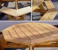 Building Plans For Hexagon Picnic Table by Picnic Table Woodworking Plans