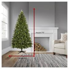 Wondershop 75ft Prelit Christmas Tree Douglas Fir W Clear Lights