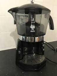 BRAND NEW BLACK MOKONA BIALETTI ITALIAN COFFEE MACHINE