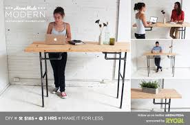 homemade modern ep74 standing desk