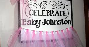 Ideas Decorating Poster Board Baby Shower Decorations