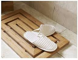 natürliches bambus holz duck holzbrett groß bad dusche 100 kork matte badezimmer material duck board bamboo