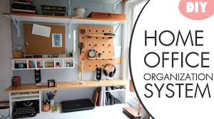 DIY Desk Organization System W Hutch YouTube