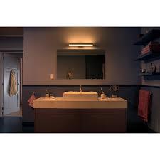 philips hue white ambiance wandleuchte adore für spiegel chrom dimmschalter