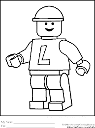 Lego Coloring Pages Free Archives Best Page Beautiful