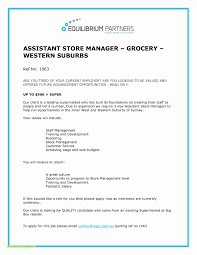 Store Manager Resume Examples Information