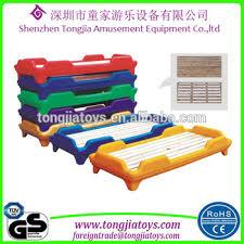 Kindergarten Kids Plastic Bed Plastic Child Bed Plastic Toddler