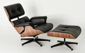 Replica Eames Lounge Chair + Ottoman - Black Italian Leather ... Eames Lounge Chair Ottoman Replica Aptdeco Black Leather 4 Star And 300 Herman Miller Is It Any Good Fniture Modern And Comfort Style Pu Walnut Wood 670 Vitra Replica Diiiz Details About Palisander Reproduction Set