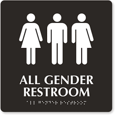 Gender Inclusive Bathroom Sign why gender neutral bathrooms are unnecessary