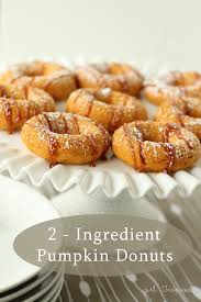 Dunkin Donuts Pumpkin Donut Weight Watcher Points by Two Ingredient Pumpkin Donuts Donuts Donut Recipes And Super Easy