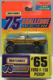 100 Ford Toy Trucks TAS037514 1996 Matchbox 75 DieCast 65 F150 Pickup